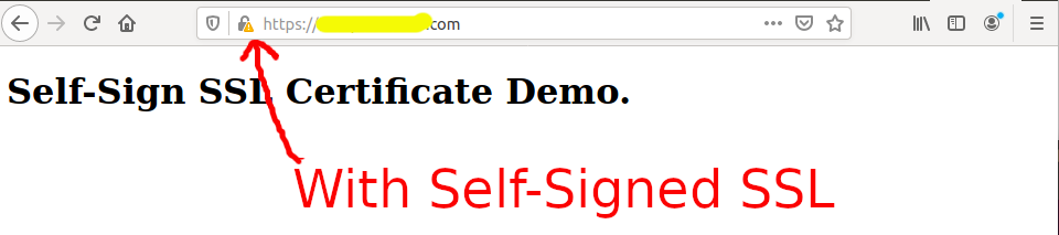 Install Self-Signed SSL Certificate On Ubuntu 20.04 - Apache - With SSL