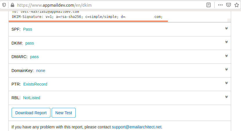 DKIM Testing - Ubuntu 20.04 LTS