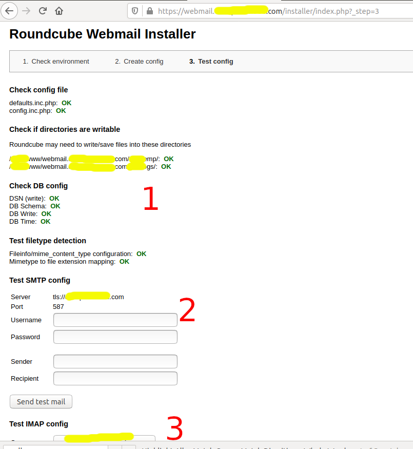 Install RoundCube On Ubuntu 20.04 LTS - Database
