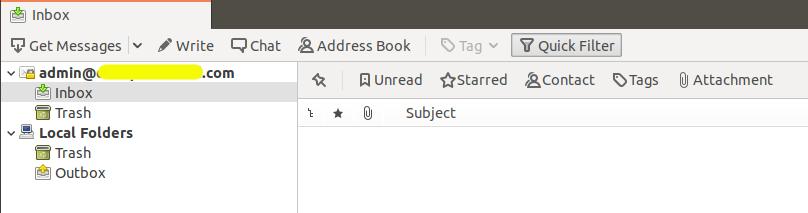 Thunderbird Autoconfig - Email Account