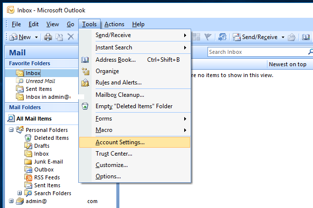 Outlook Autodiscover - Add Email Account - Account Added