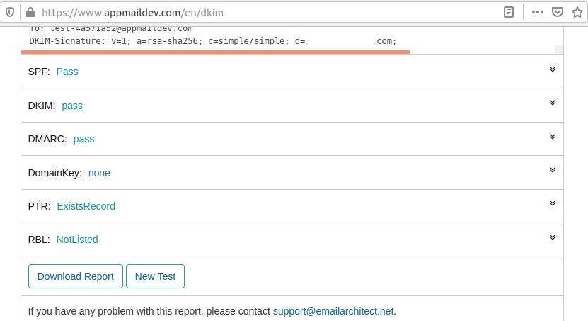 OpenDKIM - Postfix - Verify DKIM record