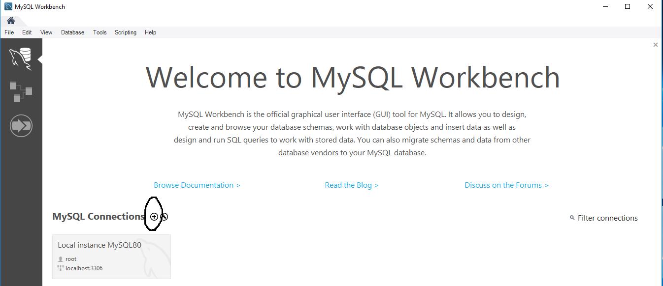 Workbench - MySQL Server - SSH Tunnel - Welcome