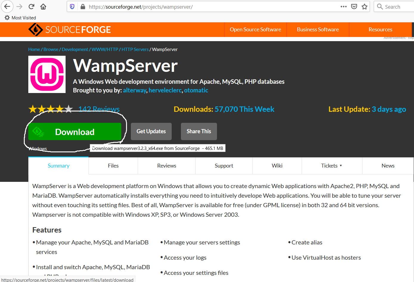 SourceForge Repository