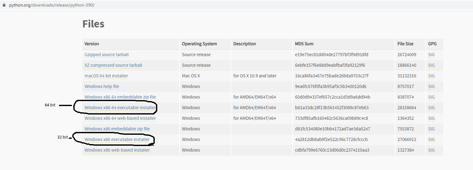 Install Python 3.9 On Windows 10 - Downloads