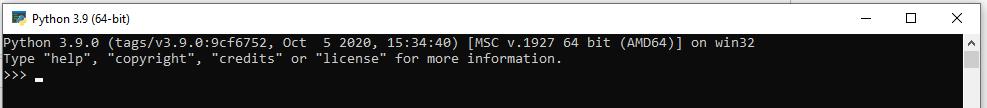 Install Python 3.9 On Windows 10 - CMD