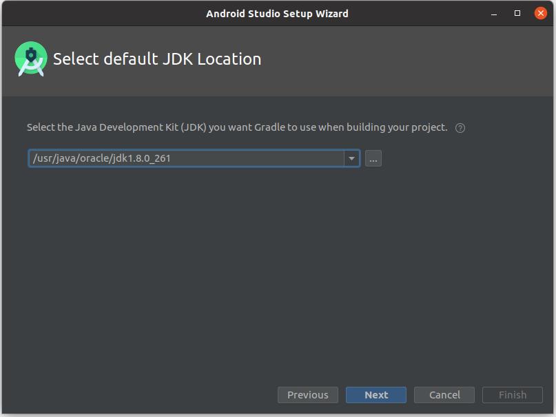 Install Andriod Studio On Ubuntu 20.04 - JDK 8