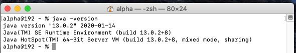 Install Java 15 On Mac - Version Checks