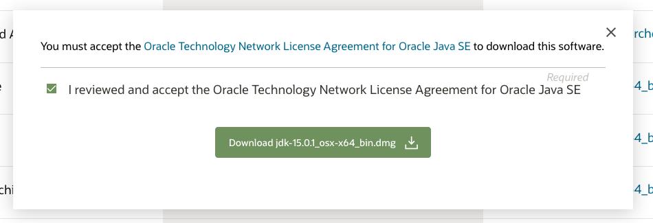 Install Java 15 On Mac - License
