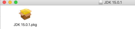 Install Java 15 On Mac - Installer