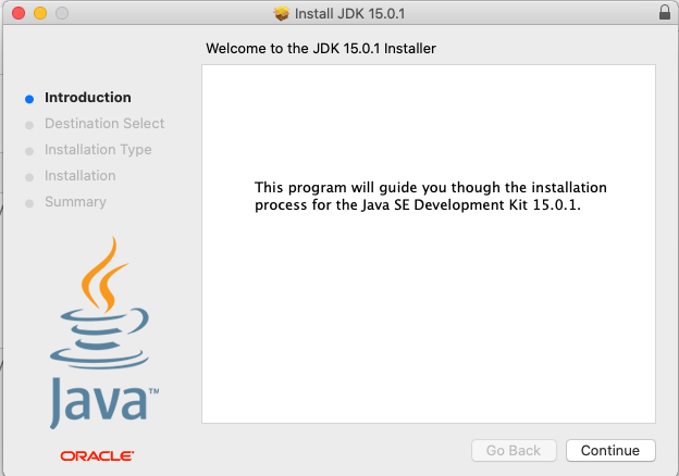 Install Java 15 On Mac - Welcome
