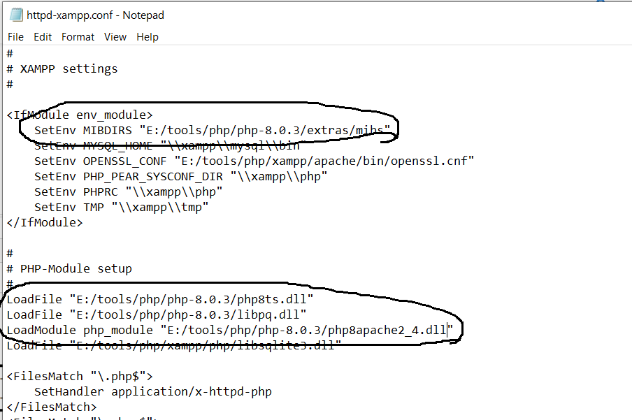 Upgrade PHP to PHP 8 in XAMPP On Windows 10 - Apache Configuration