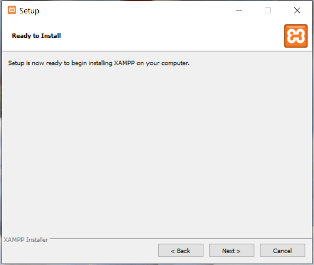 Install XAMPP on Windows 10 - Ready To Install