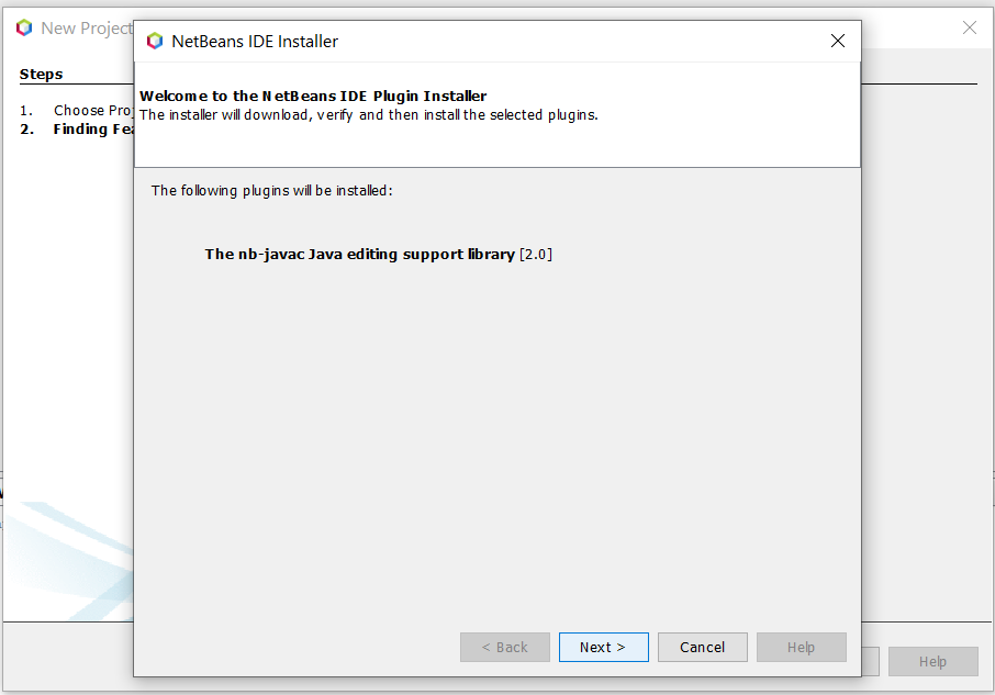 Install NetBeans 12 for Java On Windows 10 - Install Features
