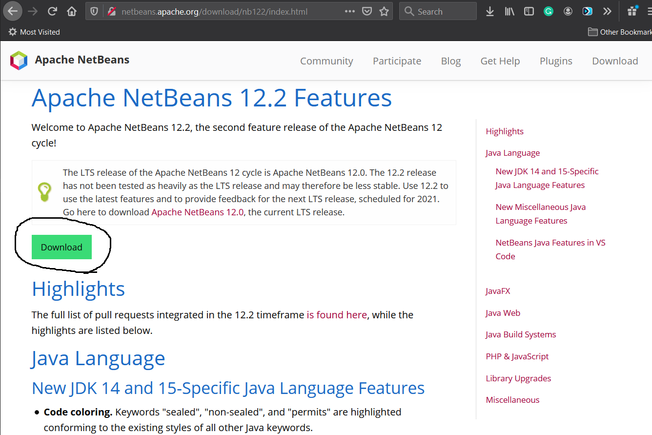 Install NetBeans 12 for Java On Windows 10 - IDE Features