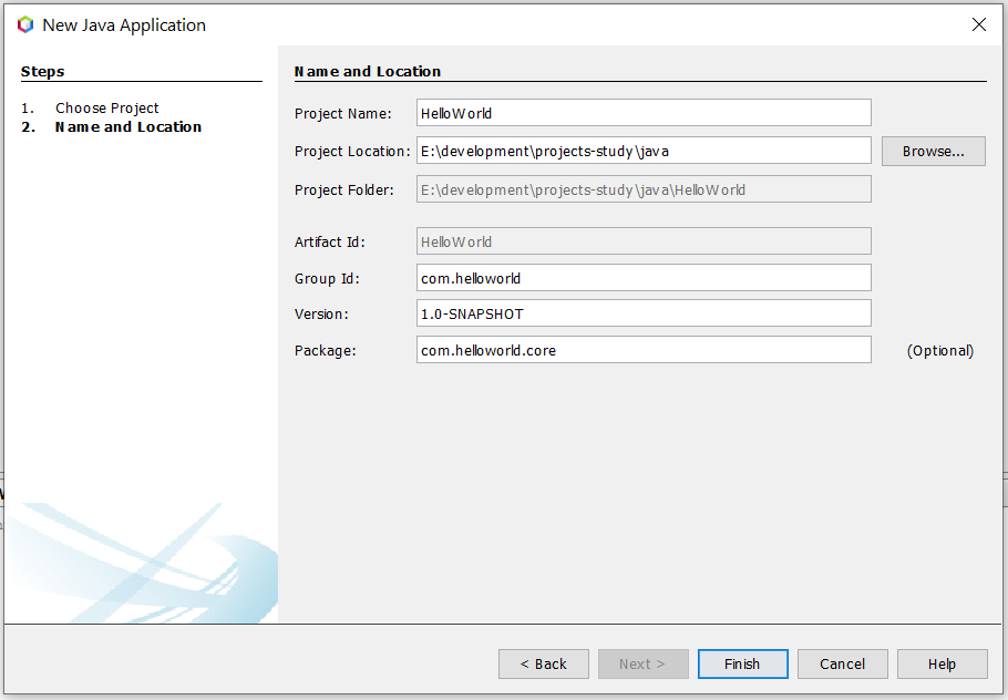 Install NetBeans 12 for Java On Windows 10 - Configure Java Project