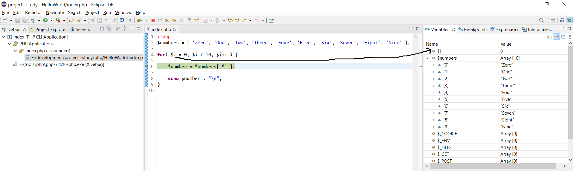 Debug PHP on Windows using Eclipse - Step Over