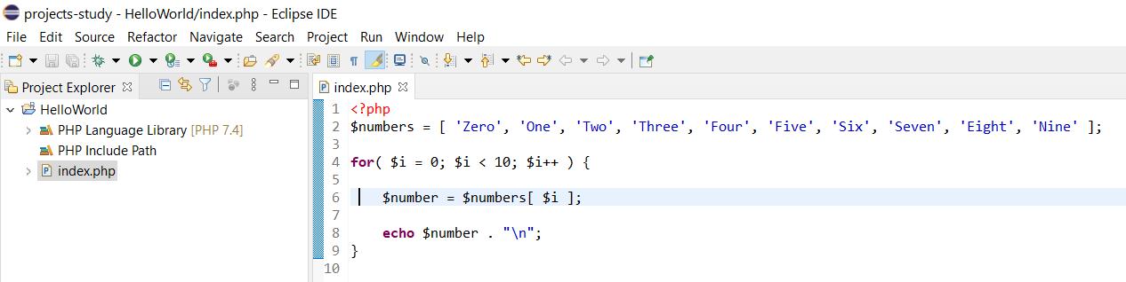 Debug PHP on Windows using Eclipse - PHP Program