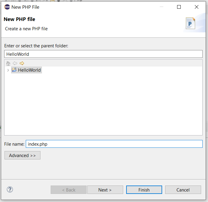 Remote Debug PHP on Windows using Eclipse - Configure PHP File