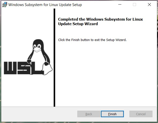 Install Windows Subsystem For Linux WSL 2 on Windows 10 - WSL Installed