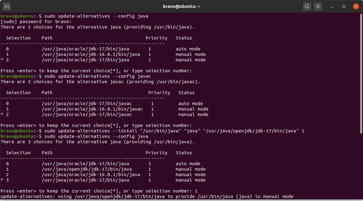 Install OpenJDK 17 or JDK 17 on Ubuntu 20.04 LTS - Configure Java