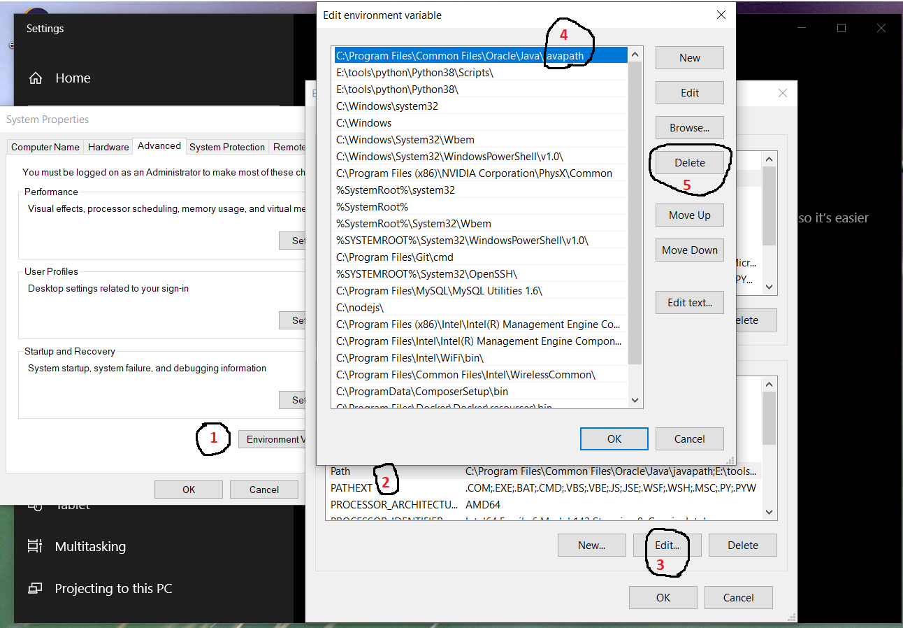 Install Java 17 or OpenJDK 17 on Windows 10 - Remove Global Path