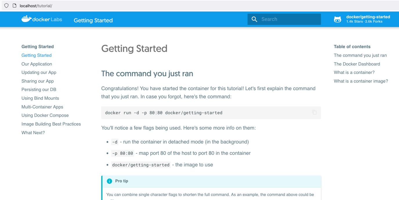 Install Docker Desktop on macOS - Hello World - Getting Started
