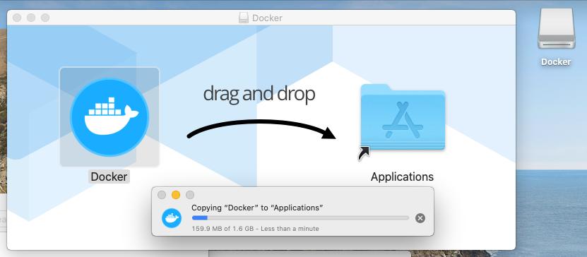 Install Docker Desktop on macOS - Installation Progress