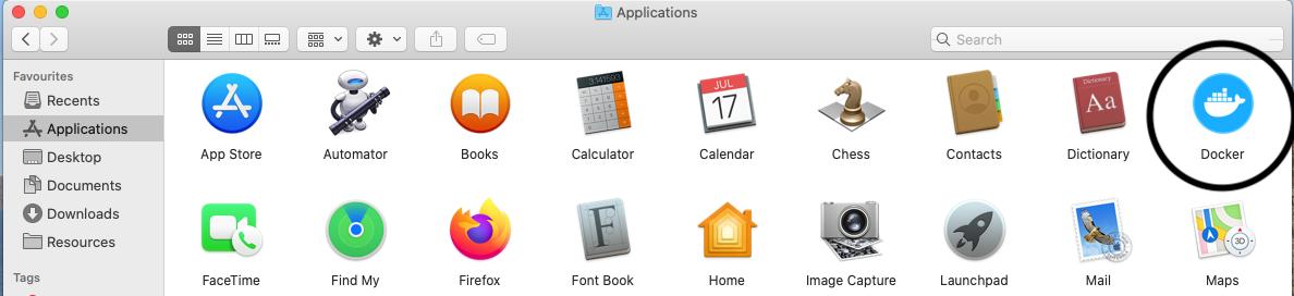 Install Docker Desktop on macOS - Applications