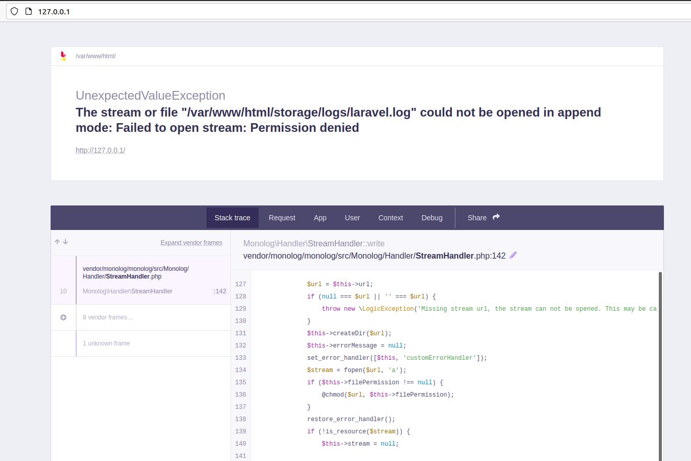 Install Laravel On Ubuntu Using Docker Engine and Laravel Sail - Permission Error